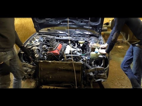Расположение топливного насоса в Audi S5