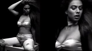 getlinkyoutube.com-Nia Sharma risks nip slip in strapless tiny top