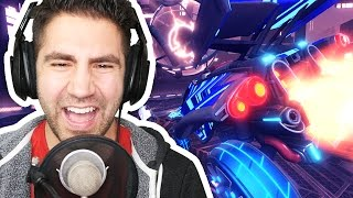 LAUGHING UNCONTROLLABLY / NEW DROPSHOT GAME MODE - Rocket League Part 69 - Funny Moments