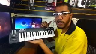 Teclado Controlador para Produzir Beats