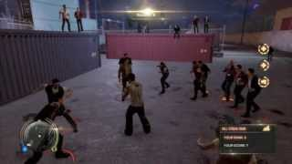 getlinkyoutube.com-Sleeping Dogs FIGHT KLUB | As many moves as possible