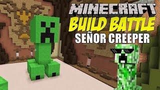 getlinkyoutube.com-Minecraft: Build Battle, El Señor Creeper.