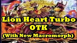 getlinkyoutube.com-Lion Heart Turbo OTK (With New Macromorph) + Deck List/Profile