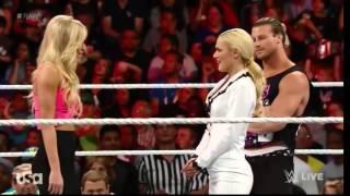 getlinkyoutube.com-WWE RAW June 29 :  Dolph Ziggler & Lana ,  Rusev & Summer Rae