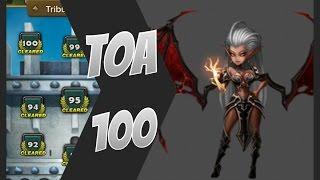 getlinkyoutube.com-Summoners War - New TOA 100 Strategie