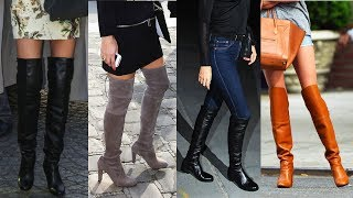 getlinkyoutube.com-How to Wear Over-the-Knee Boots | Fall Fashion | Style Survival