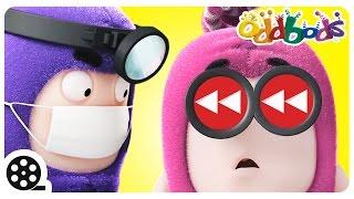 getlinkyoutube.com-Oddbods Rewind | Best Of 2016 | Doctor Odd, Food Fiasco And More | Funny Cartoons