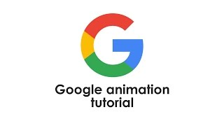 getlinkyoutube.com-Google logo animation after effects tutorial