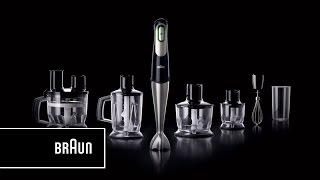 Braun Multiquick 7 Hand Blender- One squeeze.  All speeds | Introduction Long Version