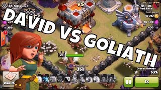"getlinkyoutube.com-Clash Of Clans | TH9 & TH10 vs. TH11 ""Attacking Up""  [DAVID VS GOLIATH]"