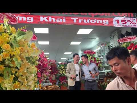 Hát giao lưu với khách khai trương NPoil Lâm Đồng 2 15-10-20