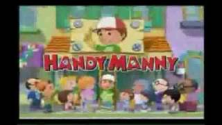 Handy Manny opening reversed