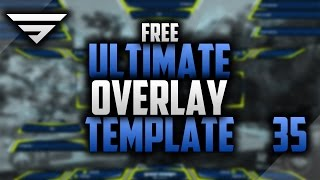 getlinkyoutube.com-Ultimate Free Twitch Overlay Template Modifiable | Speedart #35