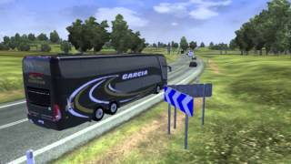 getlinkyoutube.com-Euro Truck Simulator 2 bus trip to Paris with Marcopolo G7-1800DD 6x2 FINAL