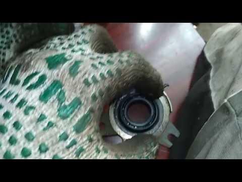 Замена сальника первичного вала кпп ф16 опель, ланос, шевроле