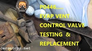 getlinkyoutube.com-How To Test and Replace EVAP Canister Vent Control Valve P0446