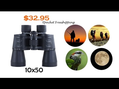 10x50 Binocular Astronomy for Stargazing Bird Watching Review Бинокль Астрономия