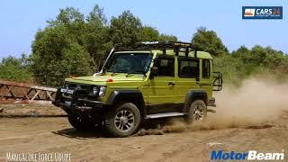 "FORCE GURKHA  Xplorer  Review- The Desi G-Wagon?  By- "" MotorBeam """