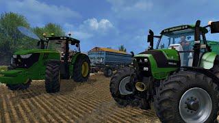 getlinkyoutube.com-Let's Play Farming Simulator 2015 #8 Nowa mapka , mody oraz pierwsze żniwo