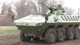 getlinkyoutube.com-Yugoimport SDPR - Lazar II 8x8 MRAV/MRAP Multi-Purpose Armoured Vehicle [720p]