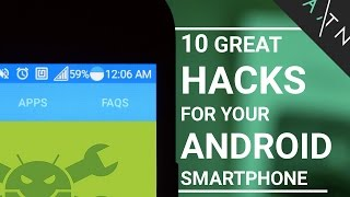 getlinkyoutube.com-10 Android Smartphone HACKS That Don't Need Root