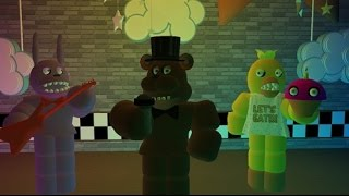 getlinkyoutube.com-Strangest glitch on Five Nights at Freddy's: Freddy Fazbear's Pizza on ROBLOX
