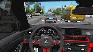 getlinkyoutube.com-City Car Driving - BMW M5 F10 HAMANN