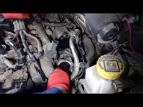 Ошибка P0401 EGR клапан, Fiat Doblo 1.3 MultiGet + P0116 (!?) датчик температуры тосола