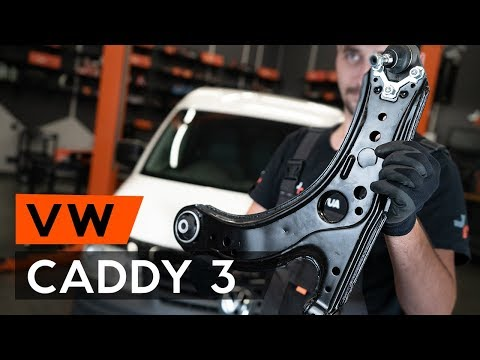 Cum se inlocuieste brat suspensie din fata pe VW CADDY 3 (2KB) (TUTORIAL AUTODOC)