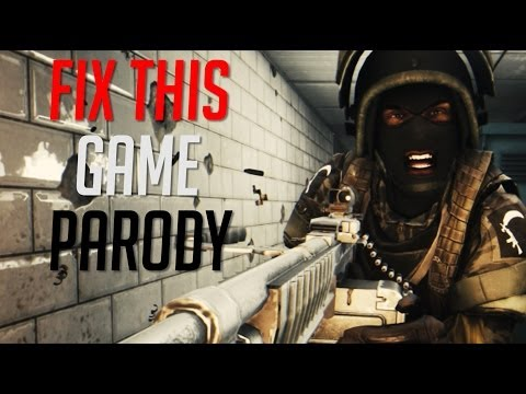 Fix This Game (Parody) - Battlefield 4 Music Video