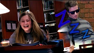 getlinkyoutube.com-Snoring In A Library