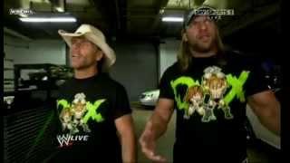 getlinkyoutube.com-DX returns to RAW (Legacy Attack)