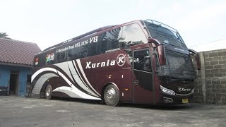 getlinkyoutube.com-Bus Review | Kurnia Jetliner Mercedes-Benz OHL 1634 v8 'Megatrend'