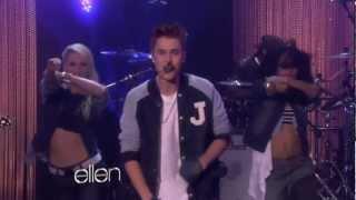 getlinkyoutube.com-Justin Bieber Performs Boyfriend at The Ellen DeGeneres Show