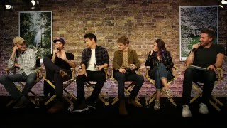getlinkyoutube.com-The Maze Runner The Scorch Trials Cast Interview with Dylan O'Brien Kaya Scodelario Thomas Sangster