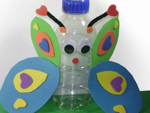 Videos Related To 'manualidades Con Reciclados: Mariposa Con