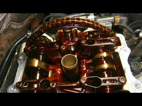 Замена гидронатяжителя Audi A8. Двигатель AQF