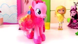 getlinkyoutube.com-Мультики для девочек: МОНСТР Хай и Пинки Пай. Магазин обуви  - Обувь для кукол. Игры для девочек