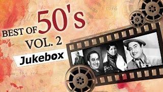 getlinkyoutube.com-Best of 50's Hindi Songs (HD) - Jukebox 2 - Evergreen Bollywood Black & White Old Hits (1950-1959)