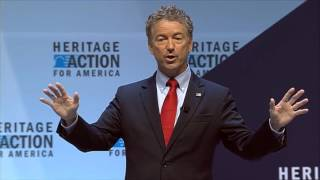 getlinkyoutube.com-Rand Paul | FULL Q&A at Heritage Action Presidential Forum