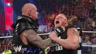 getlinkyoutube.com-UNDERTAKER REGRESA Y RETA A BROCK LESNAR PARA WRESTLEMANIA XXX 30 HD EN ESPAÑOL 2014