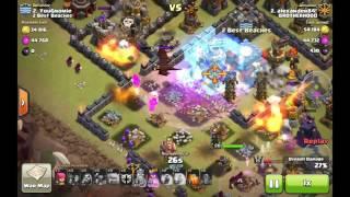 getlinkyoutube.com-Trappopotamus:  Incredible new TH10 war base. 12/15