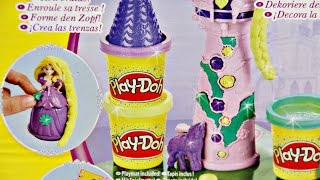 getlinkyoutube.com-Rapunzel's Tower / Wieża Roszpunki - Disney Princess - Play-Doh  - A7395 - Recenzja