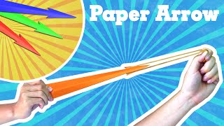 getlinkyoutube.com-Origami easy - How to make a easy paper rocket (paper arrow that shoots)