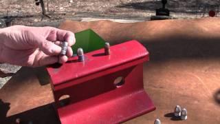 getlinkyoutube.com-Hard Cast Lead Bullets vs Soft Lead Bullets