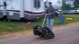 Magic Carpet Go Kart (a personal tracked vehicle)