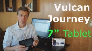 "Vulcan Journey 7"" Windows 10 Tablet Review"