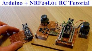 Arduino and NRF24L01 Radio Module Beginner Tutorial