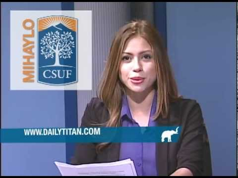 Daily Titan News Brief - 11.02.12 - Afternoon Edition
