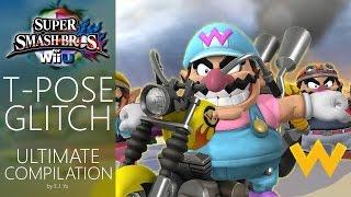 getlinkyoutube.com-ULTIMATE T-Pose Glitch Compilation — Super Smash Bros. for Wii U